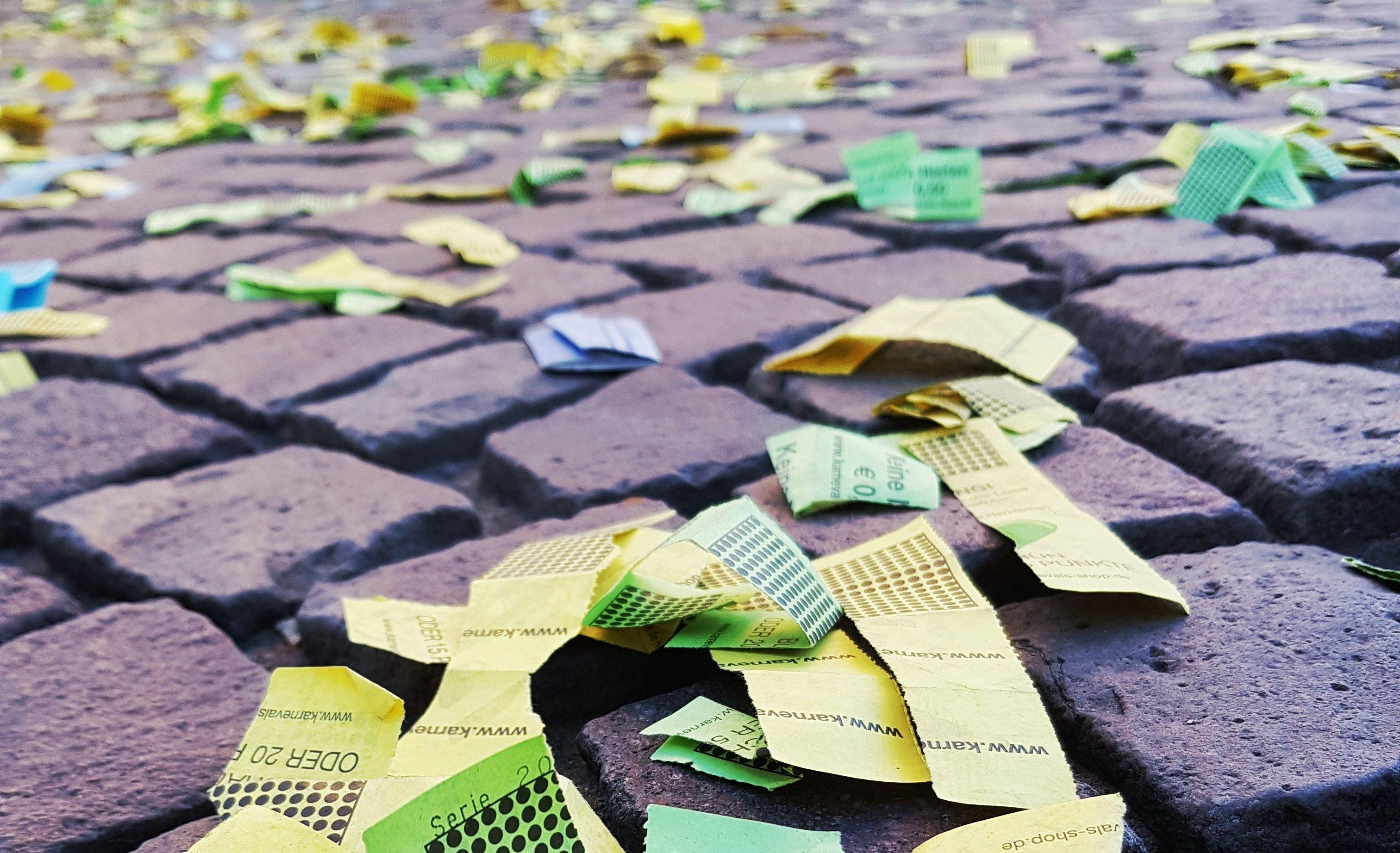 Recyclingpapier schützt die Umwelt