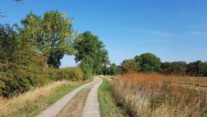 Radtour entlang des Weser-Radwegs 2