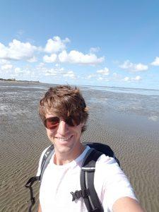 Jonas im Wattenmeer